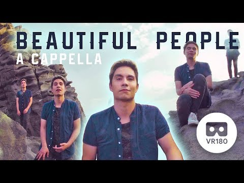 Beautiful People (Ed Sheeran + Khalid) A Cappella Cover in VR180! | Sam Tsui