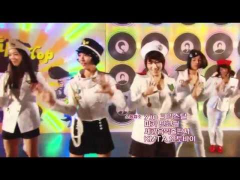 Hongki and YongHwa dancing to Genie