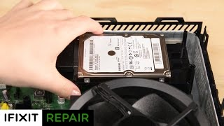 How To: Replace the Hard drive in your Xbox One