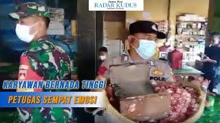 KLARIFIKASI Kapolsek Bae soal Dagangan Pedagang yang Diangkut saat Razia