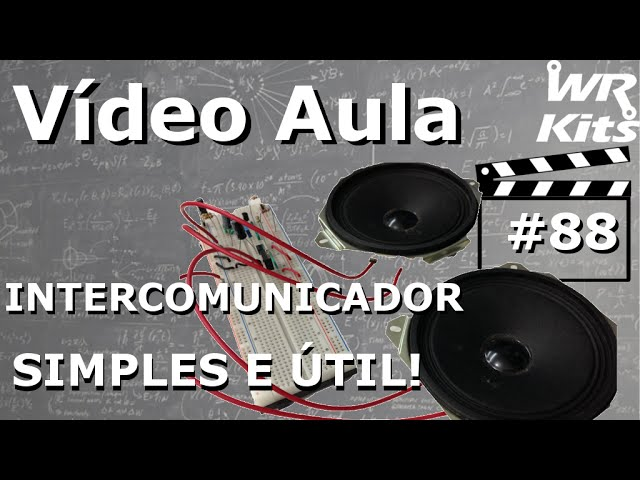 INTERCOMUNICADOR FÁCIL E ÚTIL | Vídeo Aula #88