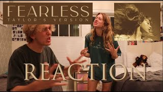 Fearless (Taylor's Version) REACTION