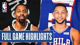 NETS at 76ERS | FULL GAME HIGHLIGHTS | January 15, 2020