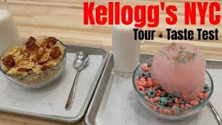Kellogg's NYC Tour + Taste Test
