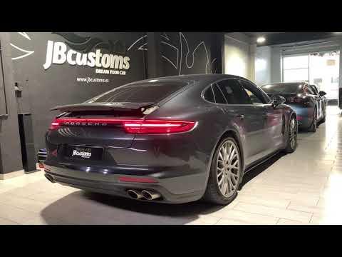 Porsche Panamera 4S Diesel con nuestro sistema completo JB Customs
