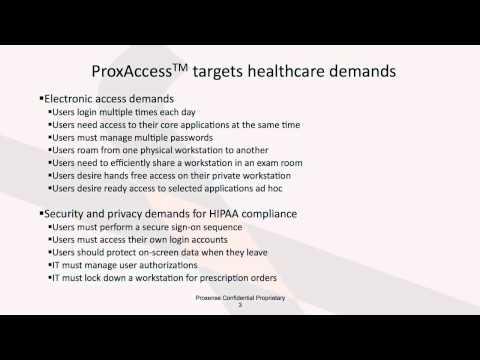 ProxAccess Introduction