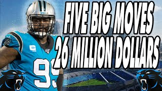 Carolina Panthers Can Save $26M In Cap By Cutting 5 Players