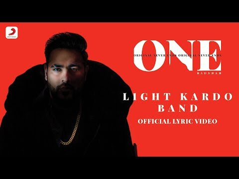 Badshah - Light Kardo Band | Aastha Gill | One Album | Lyrics Video