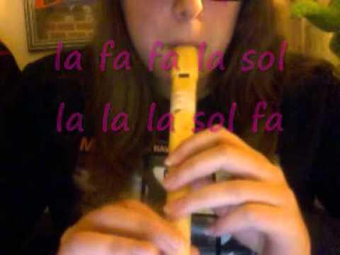 Varias canciones (cortas) Flauta Dulce.wmv