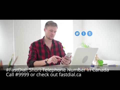 short tel numbers canada