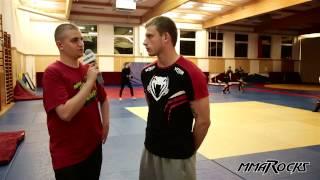 Krzysztof Jotko przed UFC w Berlinie