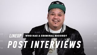 Guess Who Has a Criminal Record (Post Interview) | Lineup