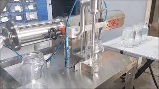 ON MART - Speed Adjustable Depth Immersed Nozzle Filling Machines / Dalan Nüzullü Dolum Makinesi
