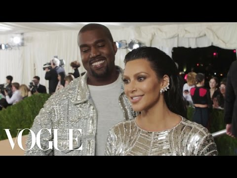 Kim Kardashian and Kanye West on Eating Reindeer | Met Gala 2016