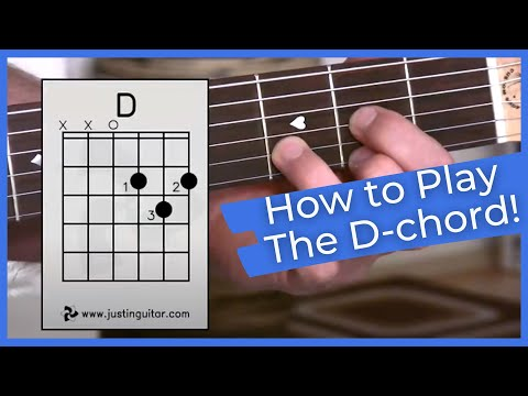 beginner guitar lesson stage 1 the d chord super easy first guitar chord bc 111 youtube. Black Bedroom Furniture Sets. Home Design Ideas