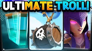 #1 'TROLL' DECK to Make Opponents RAGE QUIT! META or TROLL?