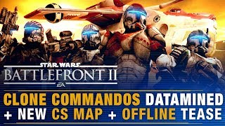 CLONE COMMANDOS Datamined! + New CS Map + Offline Large Scale Mode Teases | Battlefront Update