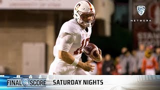 Highlights: Stanford football uses rushing attack to hand Utah first loss