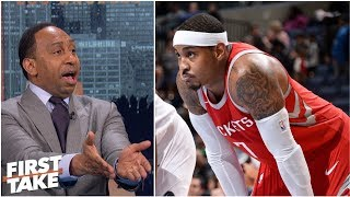 Is Carmelo Anthony's legacy on the line in Houston? | First Take