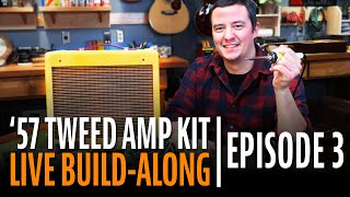 Watch the Trade Secrets Video, How to Build a Tube Amp Kit Step-by-Step (Episode 3)