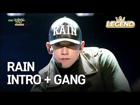 RAIN - INTRO + GANG | 비- 깡 [Music Bank COMEBACK / 2017.12.01]