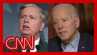 Watch Biden fire back at Graham: I'm embarrassed for you