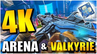 DROPPING 4K DAMAGE WITH VALKYRIE IN ARENA! | APEX LEGENDS SEASON 9!