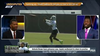 Undisputed | Rob Parker & Greg Jennings heated debate: Do you like AB handled helmet-gate?