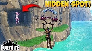 SECRET SPOT OUTSIDE THE MAP! - Fortnite Funny Fails and WTF Moments! #161 (Daily Moments)