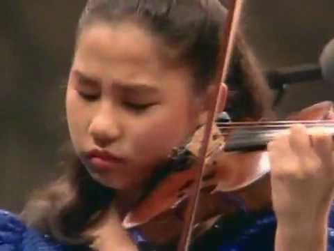 Paganini Violin Concerto Sarah Chang - 11 Years Old