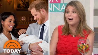 Jenna Talks Royal Baby & How She Made George H.W. Bush Cry | TODAY