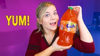DIY GIANT GUMMY SODA BOTTLE SHAPE! Edible Jello // SoCassie