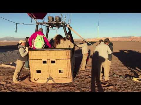 Sobrevuelo en Globo en San Pedro de Atacama