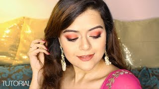 Rakhi Makeup Tutorial 2018 | All Drugstore Products | GRWM