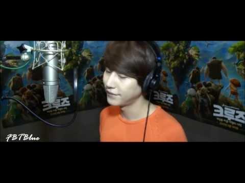 Eng CC [Audio] Kyuhyun Luna Shine Your Way, The Croods OST 130413