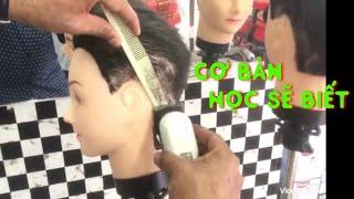 Cách cầm TÔNG ĐƠ, cắt tóc cơ bản nhất cho người mới