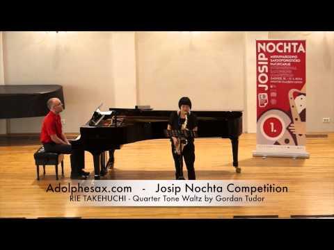 Josip Nochta Competition RIE TAKEHUCHI Quarter Tone Waltz by Gordan Tudor