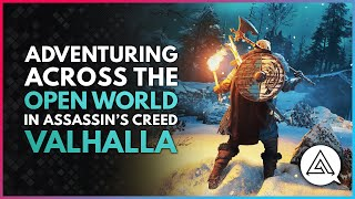 Adventuring Across The Open World in Assassin's Creed Valhalla   New Gameplay