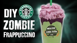 DIY STARBUCKS ZOMBIE FRAPPUCCINO - RECIPE LEAKED!!