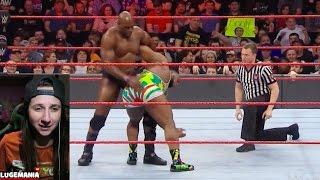 WWE Raw 1/16/17 Big E vs Titus ONeil