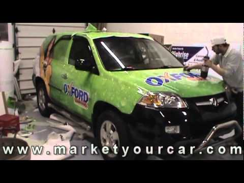 Full Vehicle Wrap By Market Your Car Inc For Oxford Learning.mpg
