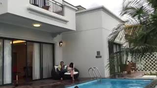 CHITHACONST - Biệt thự Hồ bơi - Tham khảo thiết kế | cách bố trí Hồ bơi Mini trong vườn sau nhà
