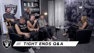 Tight End Squad's Favorite Plays of 2019 So Far | Raiders