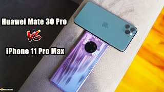 Huawei Mate 30 Pro vs iPhone 11 Pro Max: Camera Night Mode!!!