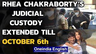 Rhea Chakraborty's judicial custody extended till October ..