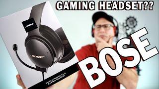 BOSE Gaming Headset!! ANY GOOD??
