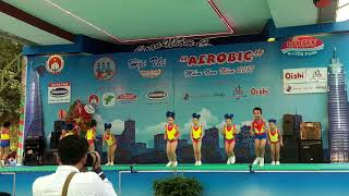 Hội thi aerobics mầm non 2017-dịu ngọt tình yêu thương nhạc hay remix
