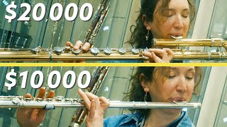 Can You Hear the Difference Between Expensive Flutes?