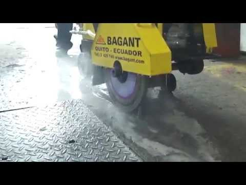 Cortadora de Hormigón y Asfalto - BAGANT
