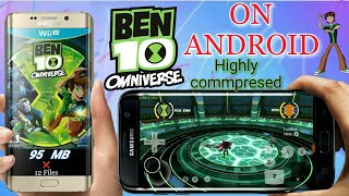 How to play ben 10 omniverse 2 in dolphin emulator